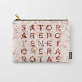 SATOR  AREPO  TENET  OPERA  ROTAS - Magic Spell Carry-All Pouch
