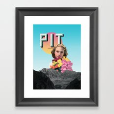 PIT Framed Art Print