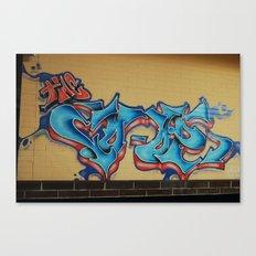 Blue & Yellow Canvas Print