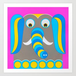 ElephantSUS Art Print