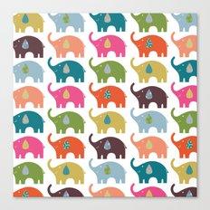 Elephant Life Canvas Print