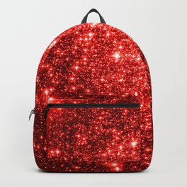 GalaXy : Red Glitter Sparkle Backpack