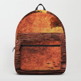 The sea of fire Backpack