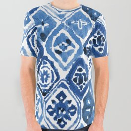 Arabesque tile art All Over Graphic Tee
