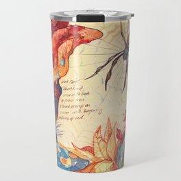 Sketchbook - Fungi Travel Mug