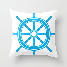 Anchors Aweigh Throw Pillow
