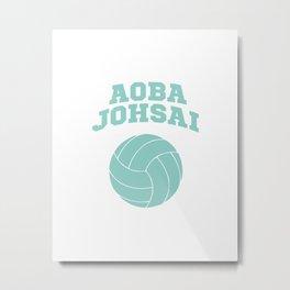 Haikyuu!! - Aoba Johsai Logo Metal Print