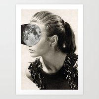 Fill the moon ll (2015) Art Print