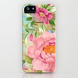 Vintage Flowers #18 iPhone Case