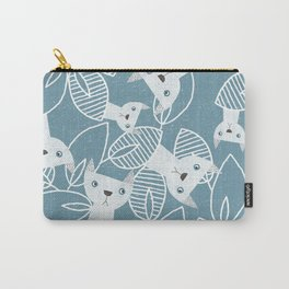 Peaking Cats Carry-All Pouch