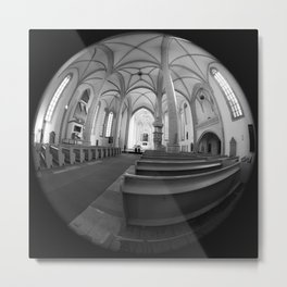 St. Mary's Church St. Mary's parish church in Torgau BW Marienkirche Metal Print