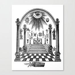 The Pillars Canvas Print
