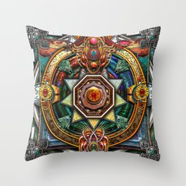 Extraordinary Celtic Mandala Throw Pillow