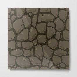 Pattern of painted stones #4 Metal Print