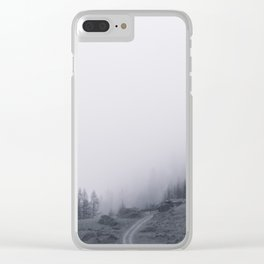 Morning Landscape Clear iPhone Case