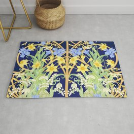 The Bee's Paradise Rug