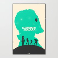 guardians of the galaxy Canvas Prints featuring Guardians of the Galaxy by FelixT