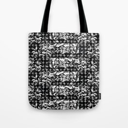 Flowers and Crosses Tote Bag