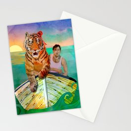Richard Parker and Pi Stationery Cards