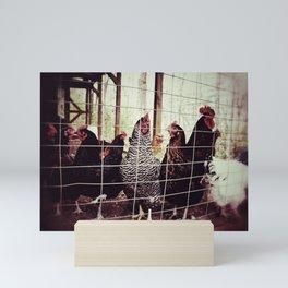 The Clan Chicks Mini Art Print