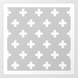 Swiss Cross Art Print