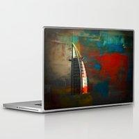 arab Laptop & iPad Skins featuring Burj Al Arab by Christine Becksted Images