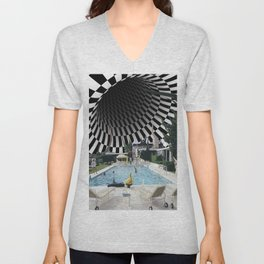 Hurry, dream is collapsing Unisex V-Neck