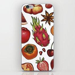 Red Food iPhone Skin