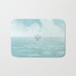The Antlered Ship - Title Page Bath Mat