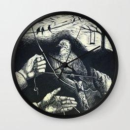 Lori's Dove Wall Clock