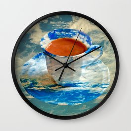 CUP OF CLOUDS Wall Clock