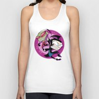 invader zim Tank Tops featuring Invader Zim You Irk Me by squ1dp0ny