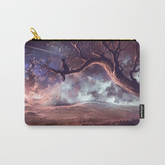 It made scars in the sky  Carry-All Pouch