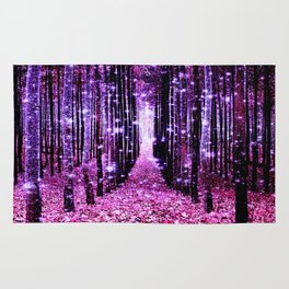 Magical Forest Pink & Purple Rug