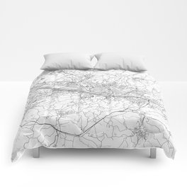 Florence Map Line Comforters