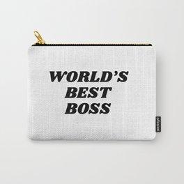 world's best boss Carry-All Pouch
