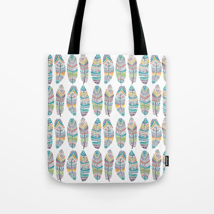 Amazon Feathers Tote Bag