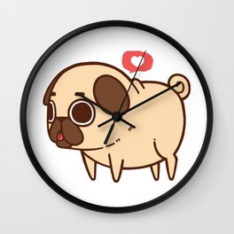 Puglie Heart Wall Clock