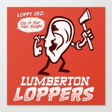 Lumberton Loppers Canvas Print