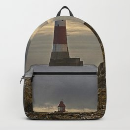 Beachy Head Lighthouse And Foreshore Backpack