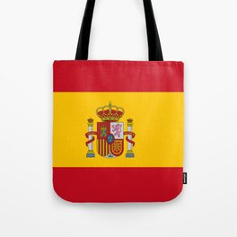 Flag of spain-spain,flag,flag of spain,espana,spanish,espanol,Castellano,Madrid,Barcelona, Tote Bag