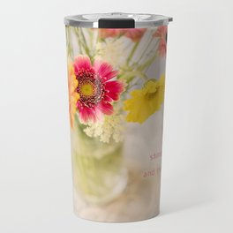 Summer Floral* Travel Mug