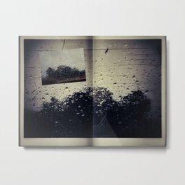 The Book of Fading Memories Metal Print