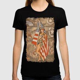 Pinups - Flag Day T-shirt