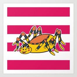 Sam Spider Art Print