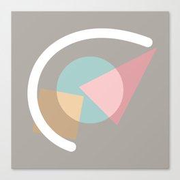 Imperfect Geometries #1 Canvas Print