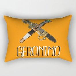 Doctor Who: Geronimo! 11th Doctor Rectangular Pillow