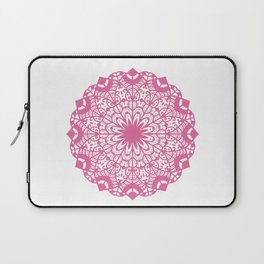 Elegant Mandala Illustration Laptop Sleeve