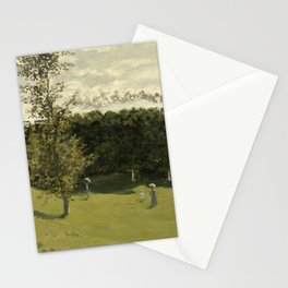 Train in the Countryside Stationery Cards