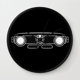 Alfa GTA Grill Wall Clock